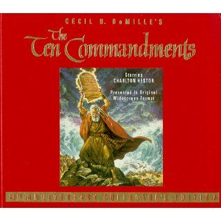 The Ten Commandments [VHS] Judith Anderson, Anne Baxter