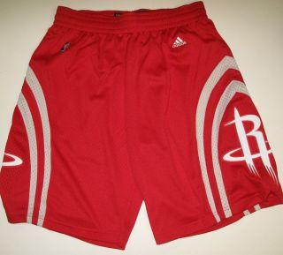 Adidas Swingman Houston Rockets Shorts Mens Red Size Large