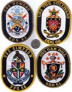 US Navy SHIP Patch USS The Sullivans DDG 68 USN Naval Destroyer Crew