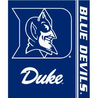 Duke Blue Devils Royal Plusch Raschel Throw Blanket   NCAA