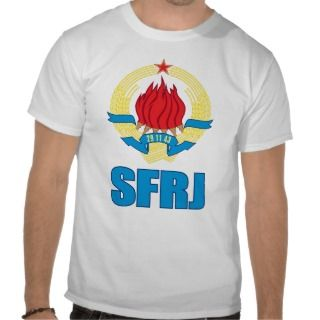 Shirt   veliki Grb SFRJ