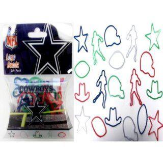 Logo Bands Cowboys Sports Team Silicone Bracelet Case Pack