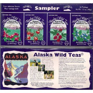 Alaska WILD TEAS Sampler (4 box sampler set) Grocery