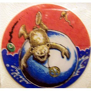 . Vinyl Grateful Dead Jerry Garcia BEAR ON BALL Deadhead