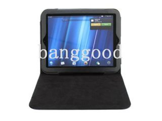 New Black Leather Case Cover Stand Protector for HP Touchpad Touch Pad
