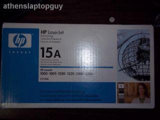 HP LaserJet 15A C7115A Toner Cartridge Genuine HP Brand New SEALED Box