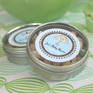 Round Baby Shower Labels Wedding : Favors and Supplies