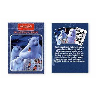 Coca Cola Coke Polar Bear Playing Cards 2 Deck set Toys