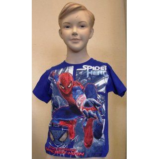 Spiderman Hero Blue Child Shirt (Medium)
