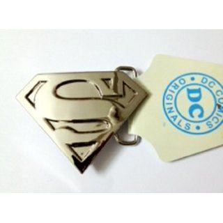 Superman S Logo Shield Silver Finishing Superhero Dc Comic
