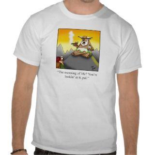 Funny Cigar Wise Man Cartoon Gifts! T Shirt