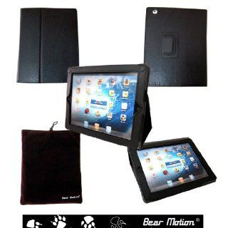 Bear Motion 100% Genuine Leather Case with Built in Stand