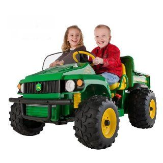 Kids Power Ride on John Deere ATV Gator HPX 12 V Tractor