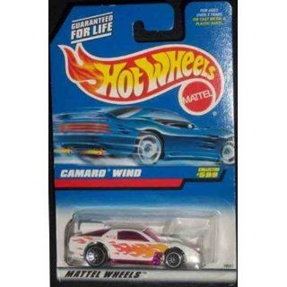 Hot Wheels   1997   Camaro Wind   Collector #599   Die