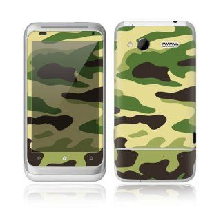 Green Camouflage Decorative Skin Cover Decal Sticker for