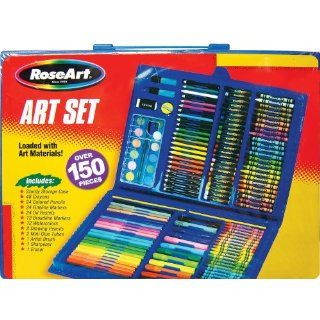 Megabrands Rose Art Art Set   150 Piece Colors May Vary