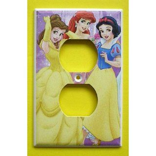 Disney Princess Belle Ariel Snow White OUTLET Switch Plate