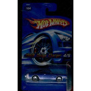 Hot Wheels 2005 104 1969 Dodge Charger 4/5 Muscle Mania 1