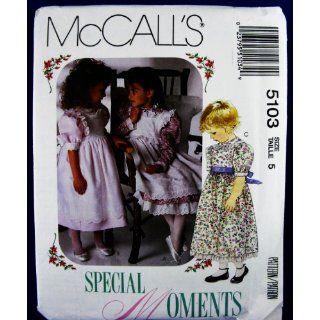 McCalls 5103 Special Moments ~ Little Girls Dress