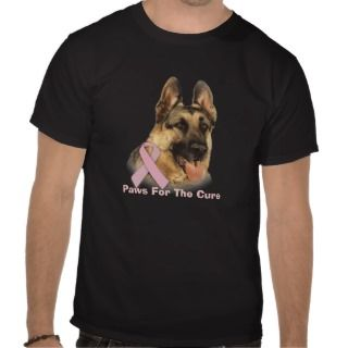 German Shepherd Breast Cancer Unisex Shirt