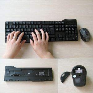 Wireless Keyboard Mouse for PC IBM Dell HP Laptop
