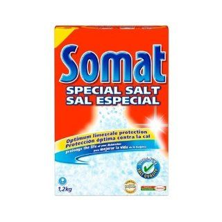 Somat Dishwasher Salt (Case Lot of 5 Boxes) Health