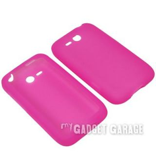 Skin Cover Case w/ Custom Fitted Screen Protector For HTC Freestyle