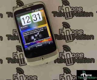 HTC Wildfire Buzz White Unlocked Andriod Mobile Cell Phone