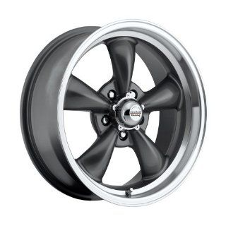 17 inch 17x8 100 S Classic Series Charcoal Gray aluminum wheels rims