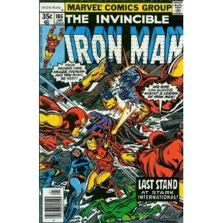 Iron Man (1st Series) #106 Bill Mantlo, George Tuska