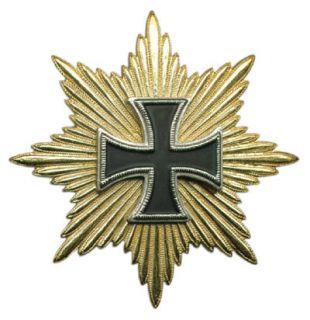 HRE German Prussia Waterloo Army War General Order Iron Cross Star