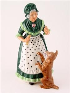Royal Doulton Figurine Old Mother Hubbard HN 2314 HN2314 Excellent