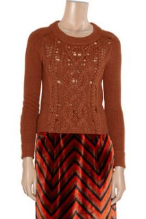 Marc by Marc Jacobs Uma cable knit merino wool sweater