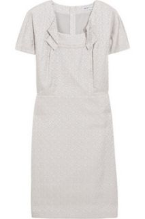 See by Chloé Metallic brocade dress