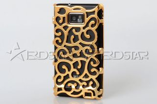 Royal Palace Blossom Flower Gold Case Cover for Samsung Galaxy S2