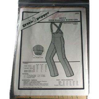 Green Pepper 105 Sewing Pattern Mens High Waisted Warm