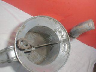 Gas Station Oil Cans Dispenser w Flexible Spout 1 Qt by Huffman
