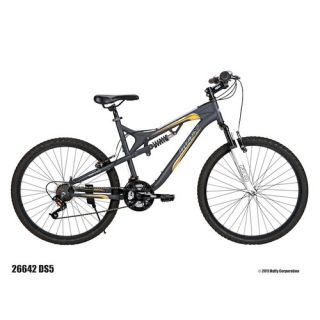 Huffy Mens DS 5 Dual Suspension Mountain Bike 26642