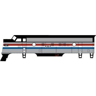 HO RTR F7A Amtrak/Phase III #107 Toys & Games
