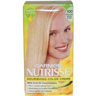 Garnier Nutrisse Haircolor, 100 Extra light Natural Blonde