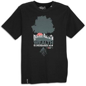 LRG Love is Riches S/S T Shirt   Mens   Casual   Clothing   Black