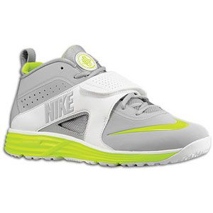 Nike Huarache Turf Lax   Mens   Lacrosse   Shoes   Grey/White/Volt