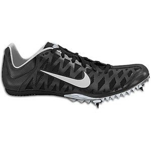 Nike Zoom Maxcat 4   Mens   Track & Field   Shoes   Black/White