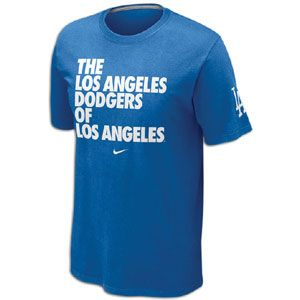 Nike MLB Local T Shirt 12   Mens   Baseball   Fan Gear   Dodgers