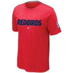 Nike MLB Local T Shirt 12   Mens   Baseball   Fan Gear   Cardinals