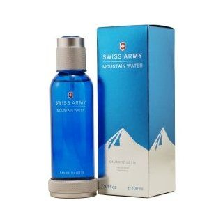 SWISS ARMY MOUNTAIN WATER by Swiss Army EDT SPRAY 3.4 OZ