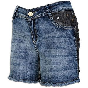 Southpole Plus Sized Shorts W/Studded Sides & Po   Womens   Casual