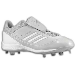 adidas Excel 365 Metal Low   Mens   Baseball   Shoes   Grey/White