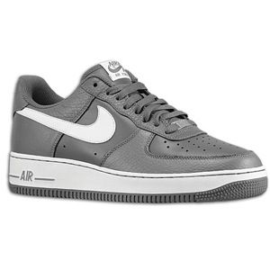 Nike Air Force 1 Low   Mens   Basketball   Shoes   Dark Grey/White