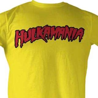 Hulkamania Hulk Hogan T Shirt WWF WWE Wrestling New